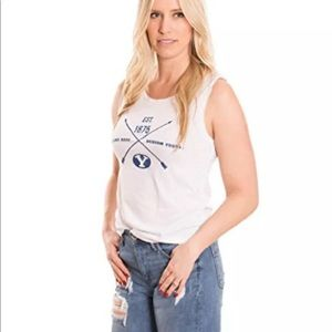 Women's Tank Top NCAA Brigham Young size large